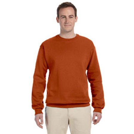 Screen Fleece Sweatshirts - Adult 8 oz., NuBlend Fleece Crew 562