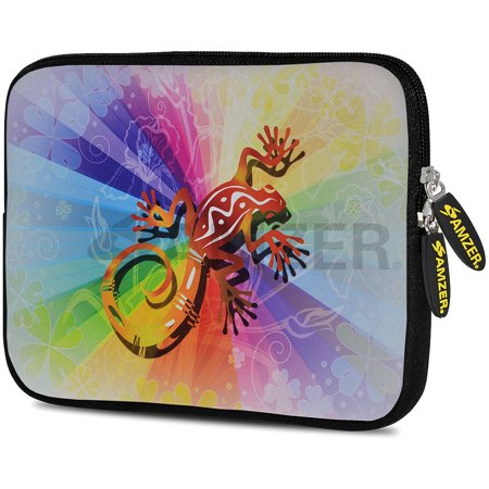 Universal 10.5 Inch Soft Neoprene Designer Sleeve Case Pouch for 10.5 Inch Tablet, eBook, Netbook - Colour Blur