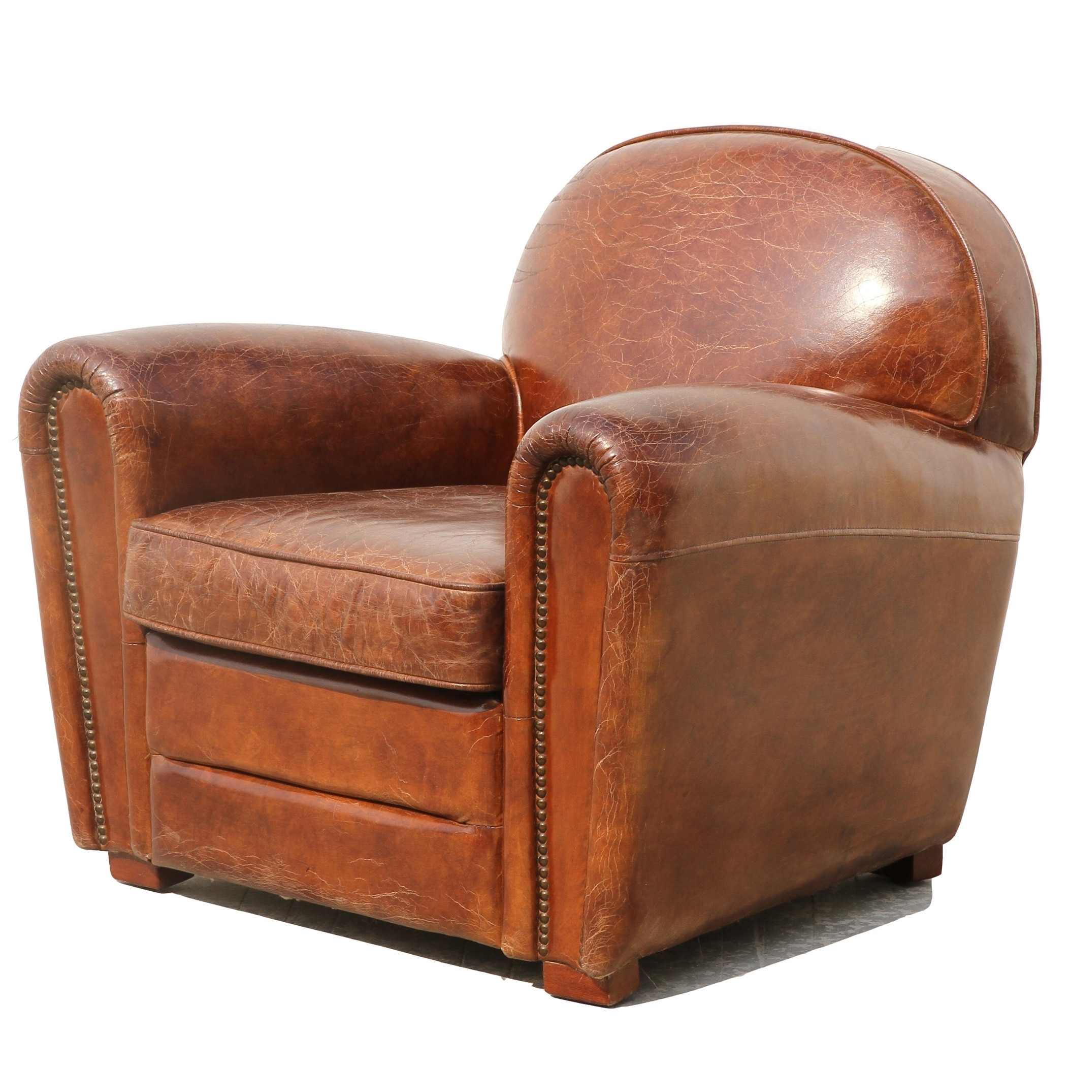 Leather Club Chair Recliners Rona Mantar
