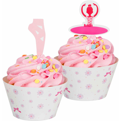 Creative Converting Tutu Much Fun Cupcake Wrappers, 12pk