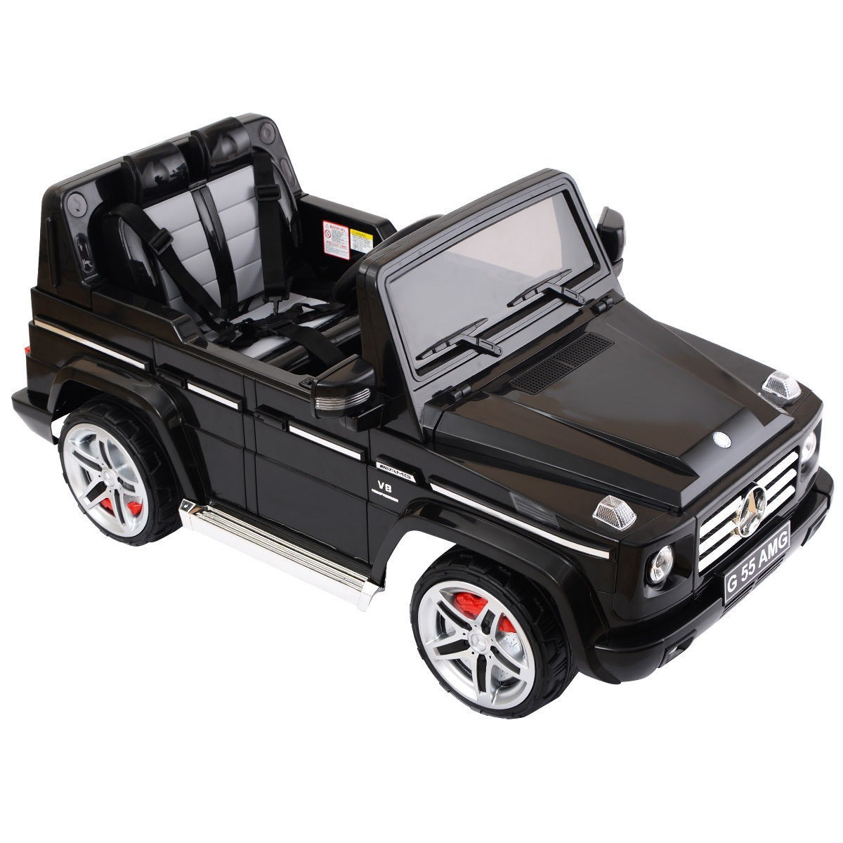 Mercedes Benz G55 12V Electric Kids Ride On Car Truck Licensed RC Remote Control