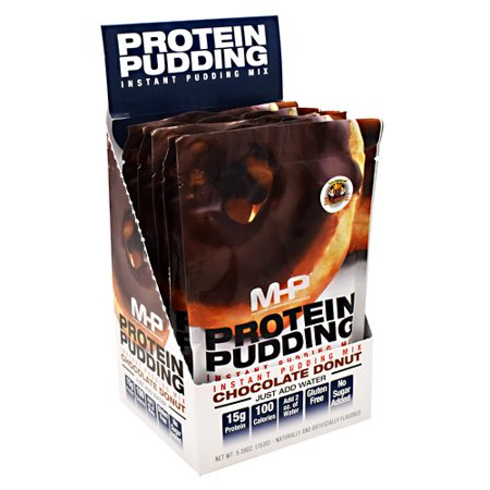 MHP Protein Pudding Chocolate Donut - 6 - 5.29 oz (150 g) Packets