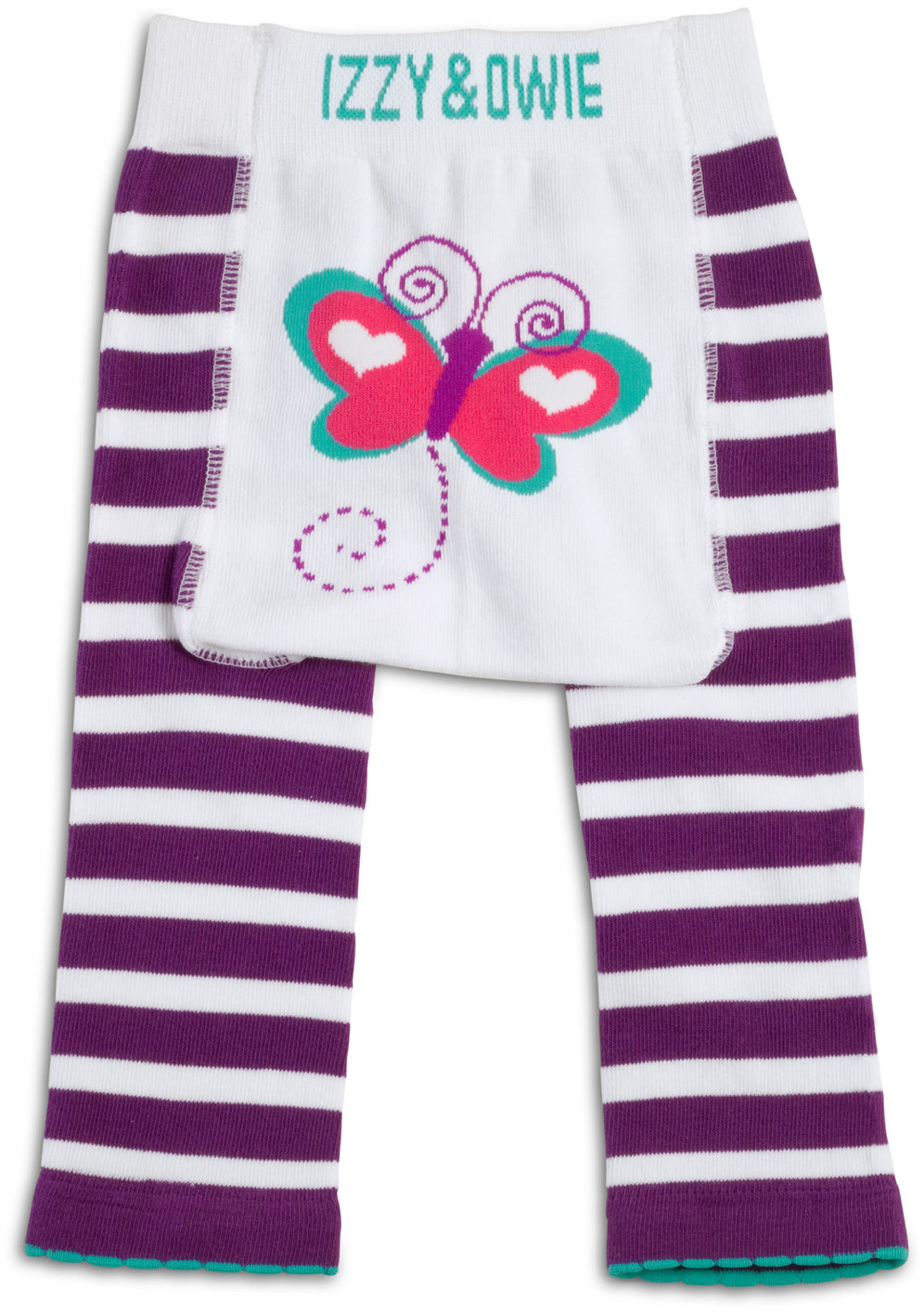 Izzy & Owie - Butterfly Baby Girl Leggings