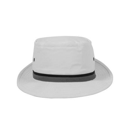 aa6422f92173e4 TOP HEADWEAR - Top Headwear Packable Pork Pie Ribbon Bucket Hat -  Walmart.com
