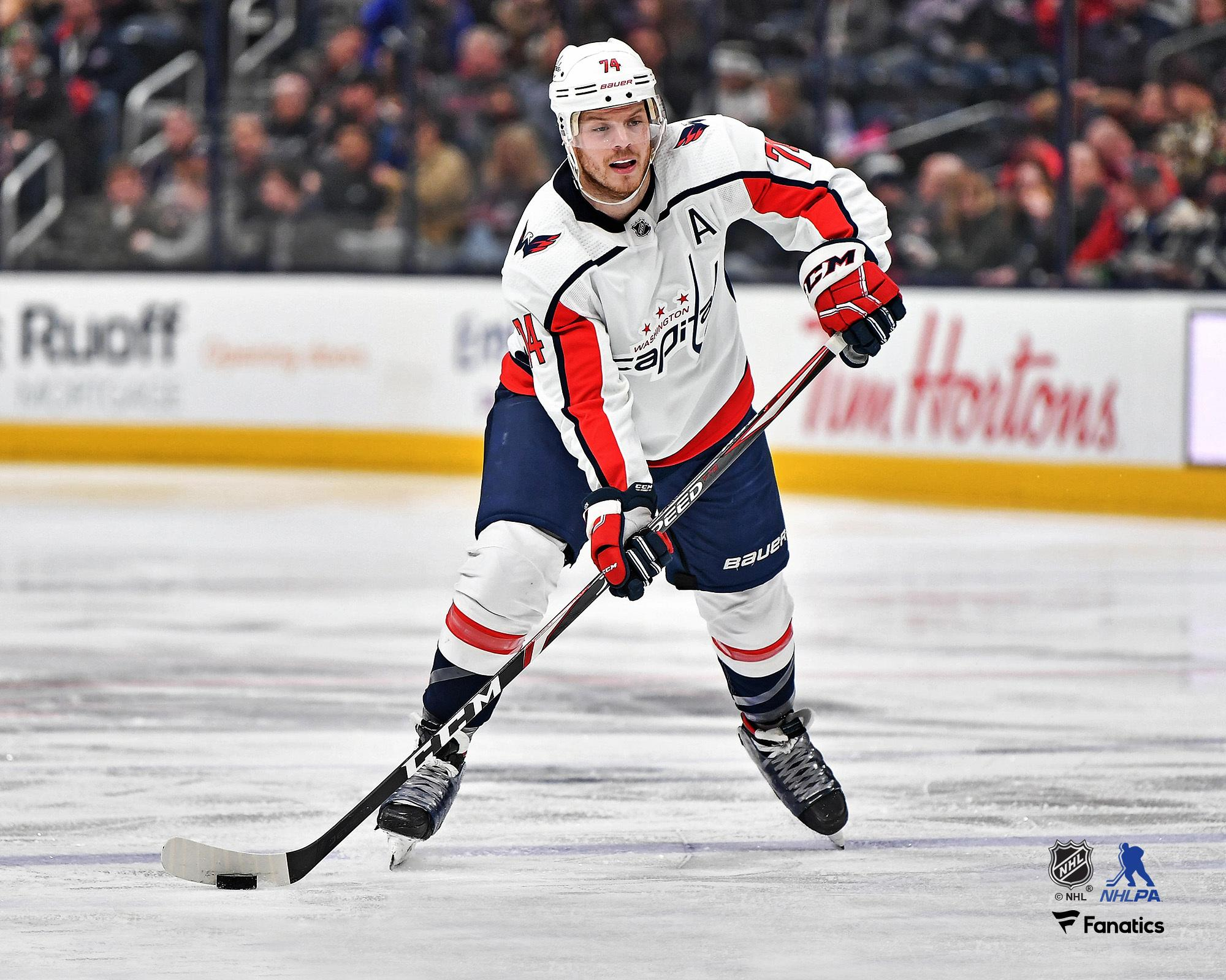 John Carlson Washington Capitals Unsigned White Jersey Skating Photograph - Walmart.com