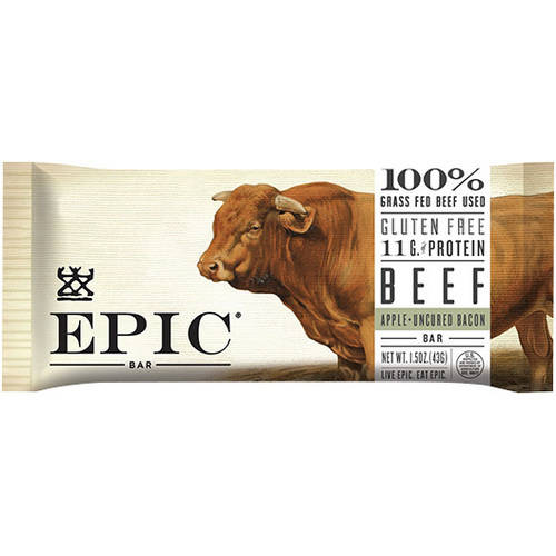 Epic Bacon Apple Beef Bar, 1.5 oz, (Pack of 12)