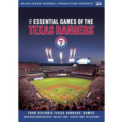 MLB: The Essential Games Of The Texas Rangers (Full Frame)