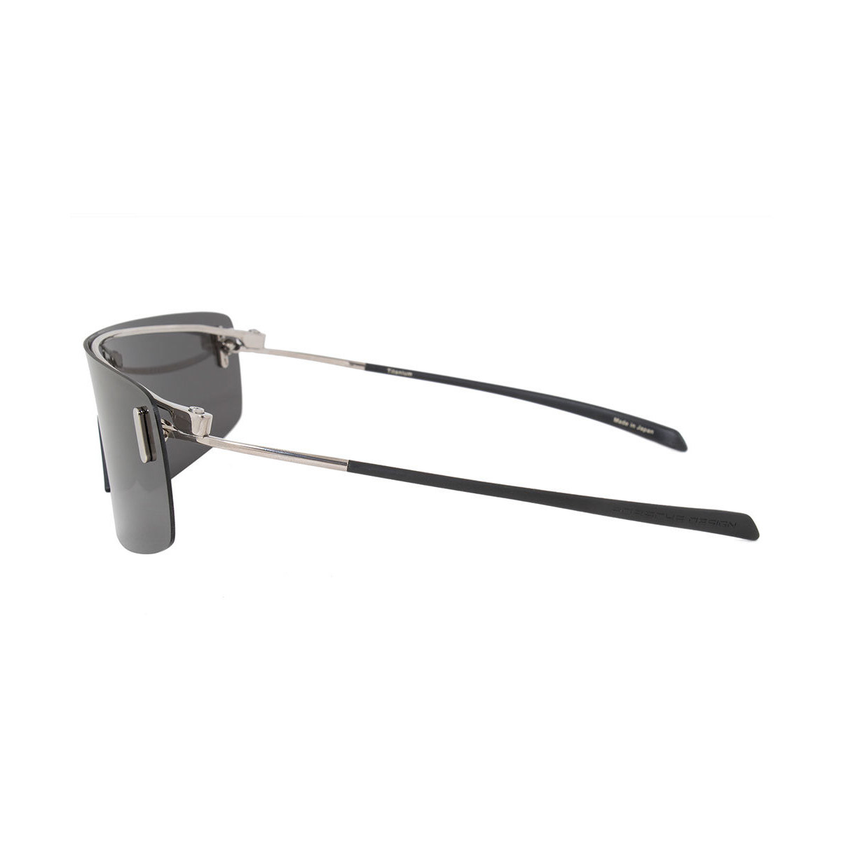 fe64cb96711 Porsche Design - Porsche Design Rimless P 8482 B 15 Men s Titanium Frame  Grey Lens Sunglasses - Walmart.com