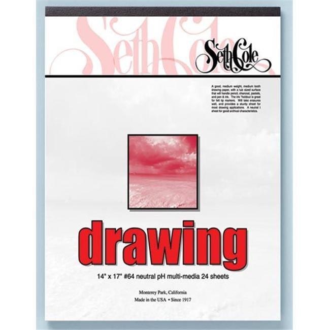 "14"" x 17"" Drawing Paper Pad"