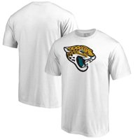 Jacksonville Jaguars NFL Pro Line by Fanatics Branded Primary Logo T-Shirt - White