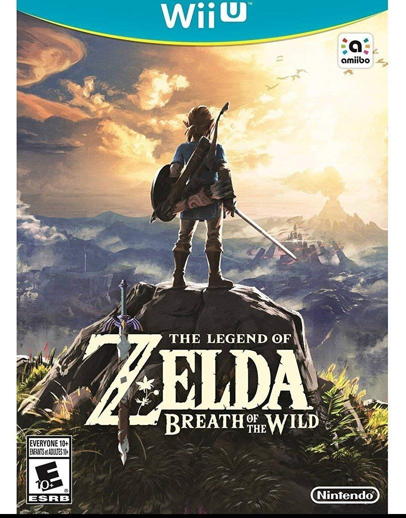The Legend of Zelda: Breath of the Wild, Nintendo, Nintendo Wii U, 045496904159