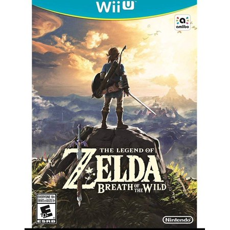The Legend of Zelda: Breath of the Wild, Nintendo, Nintendo Wii U, (Best Nhl Game For Wii)