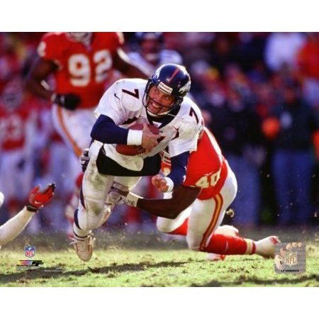 John Elway 1997 Action Photo Print John Elway Signed Photograph