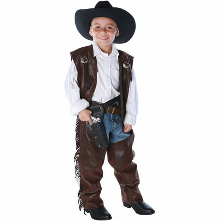 Cowboy Chaps Vest Child Costume - Dallas Cowboys Costumes