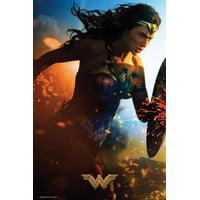 Wonder Woman- Run Poster - 24x36