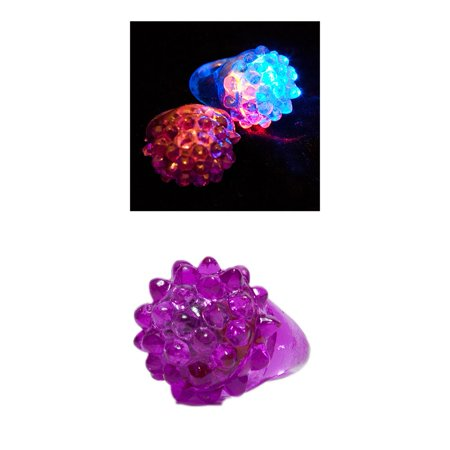 Flashing Jelly Ring for Halloween for $<!---->