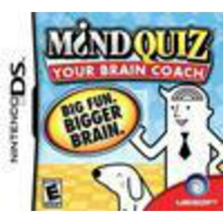 Mind Quiz Your Brain Coach - Nintendo DS