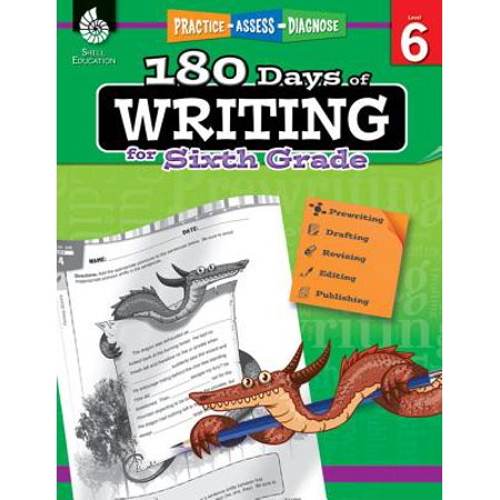 180 Days of Writing for Sixth Grade (Grade 6) : Practice, Assess, Diagnose - Sixth Grade Halloween Games