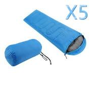 5Pcs Best Sleeping Bags for Camping, Portable Envelope Lightweight Waterproof Sleeping Bags Soft War