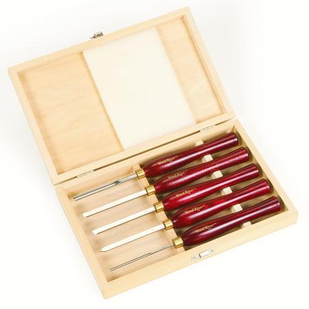 woodriver 5 piece mini hss turning tool set. Black Bedroom Furniture Sets. Home Design Ideas