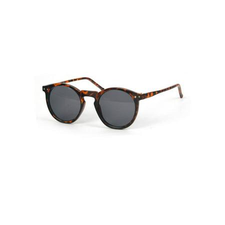 Unisex Retro Round Old School Sunglasses P1123 ()