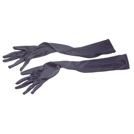 Star Power Halloween Costume Fashion 2pc Gloves, Black, One Size (19