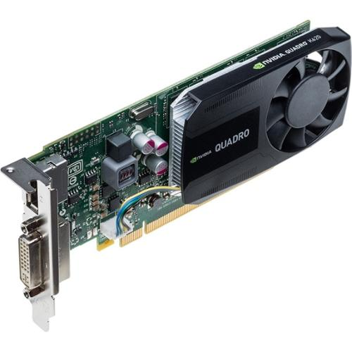 Pny Quadro K620 Graphic Card - 2 Gb Gddr3 Sdram - Pci Express 2.0 X16 - Low-profile - 3840 X 2160 - Fan Cooler - Directcompute, Opencl, Directx 11.2, Opengl 4.5 - Displayport - Dvi (vcqk620-pb)