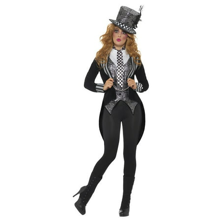 Dark Mad Hatter Adult Costume - Medium