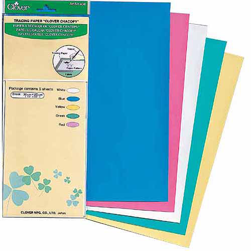 "Clover Chacopy Tracing Paper, 12"" x 10"", 5/pkg"