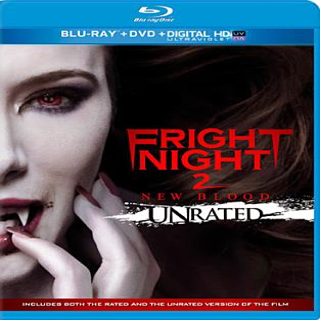 Fright Night 2 (Unrated) (Blu-ray + DVD + Digital HD)](Halloween Fright Night Cd)