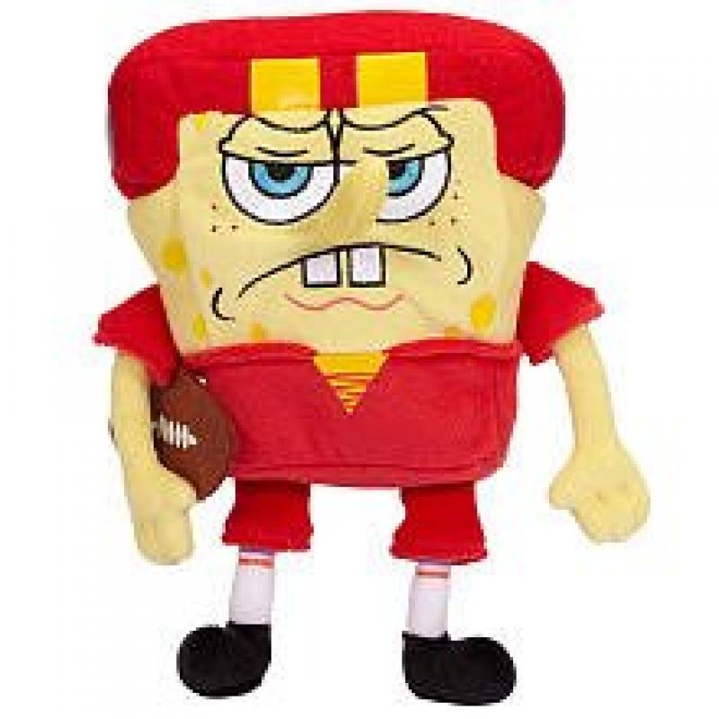 Sponge Bob Small Plush - Football