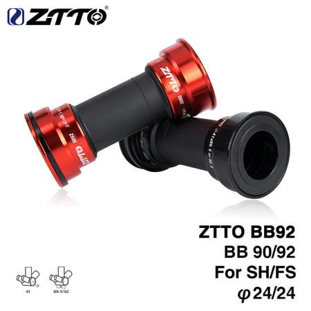 ZTTO Mountain Road Bike Bearing Bicycle Press Fit External Bearing Bottom Brackets for Parts Crankset