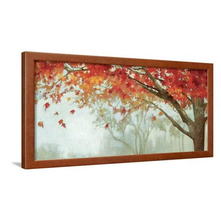Fall Canopy II Autumn Tree Botanical Art Framed Print Wall Art By Andrew -