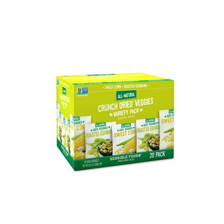 Branded Sensible Foods Crunch Dried Veggies Variety Pack (0.54 oz., 20 ct.) Pack of 1 [Qty Discount / wholesale - Dried Veggies