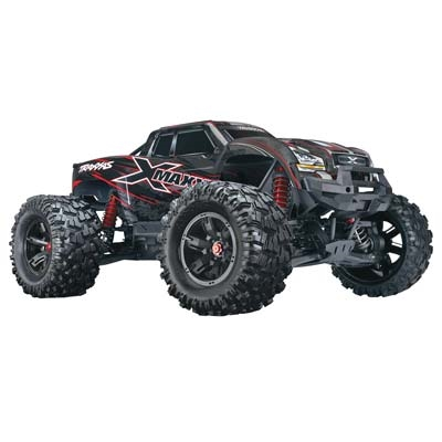 Traxxas 770864T1 X-Maxx: Red 4WD 8S-Capable Brushless Truck with TSM