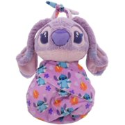 Disney Parks Baby Angel in a Pouch Blanket Plush Doll Stitch