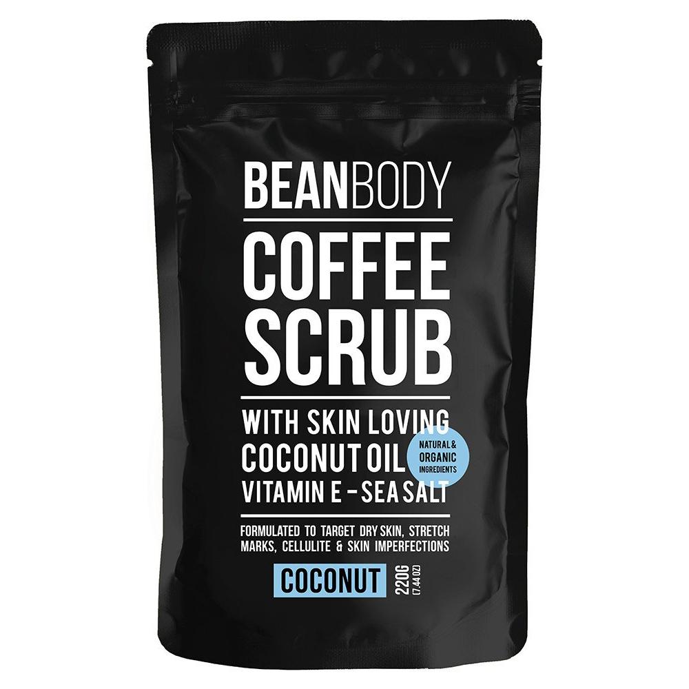 Mr. Bean Body Coffee Scrub With Coconut Oil Coconut 220g