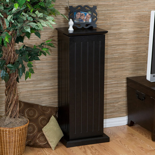 Gretna Media Storage Pedestal, Black