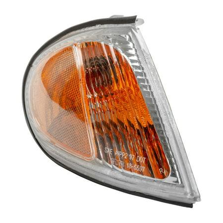 Hyundai Elantra Signal Light (TYC 18-5597-00-1 Turn Signal / Parking Light for 99-00 Hyundai Elantra)