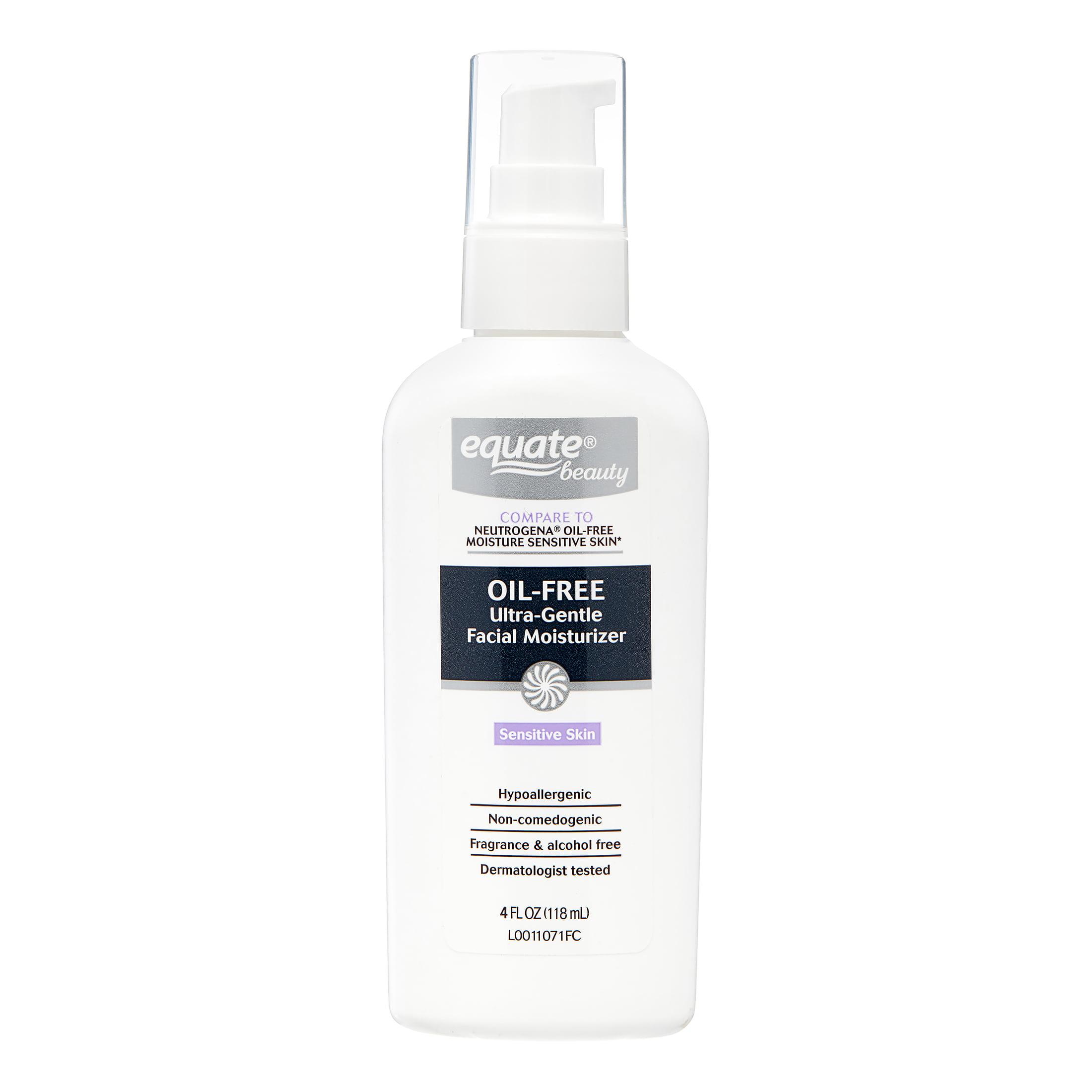 Noncomedogenic facial moisturizer