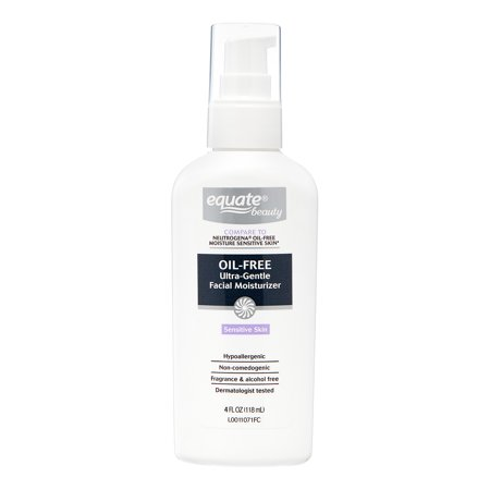 Oil Free Massage Cream - Equate Beauty Oil-Free Ultra-Gentle Lotion Face Moisturizer, 6 Fl Oz
