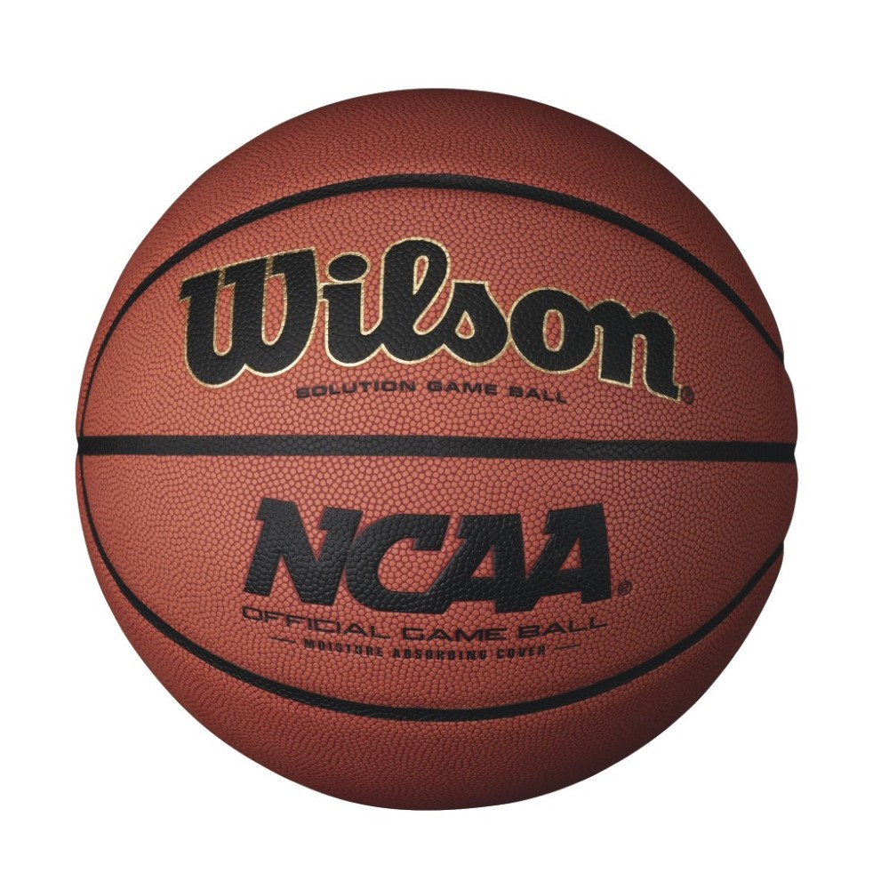 Wilson NCAA Intermediate Size Game Basketball by Wilson