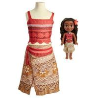 Disney Princess Adventure Moana Toddler Doll and Dress