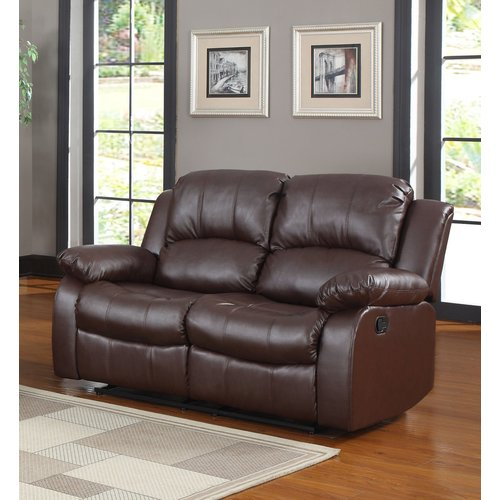Madison Home USA Leather Reclining Sofa