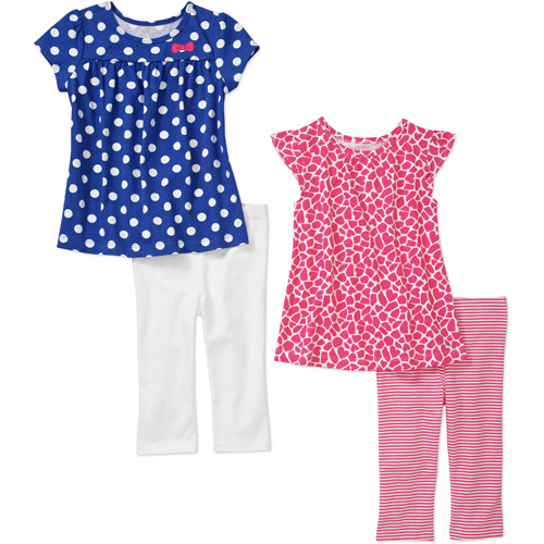 Child of Mine By Carters Baby Girls' 4 Piece Tunic and Pant Sets