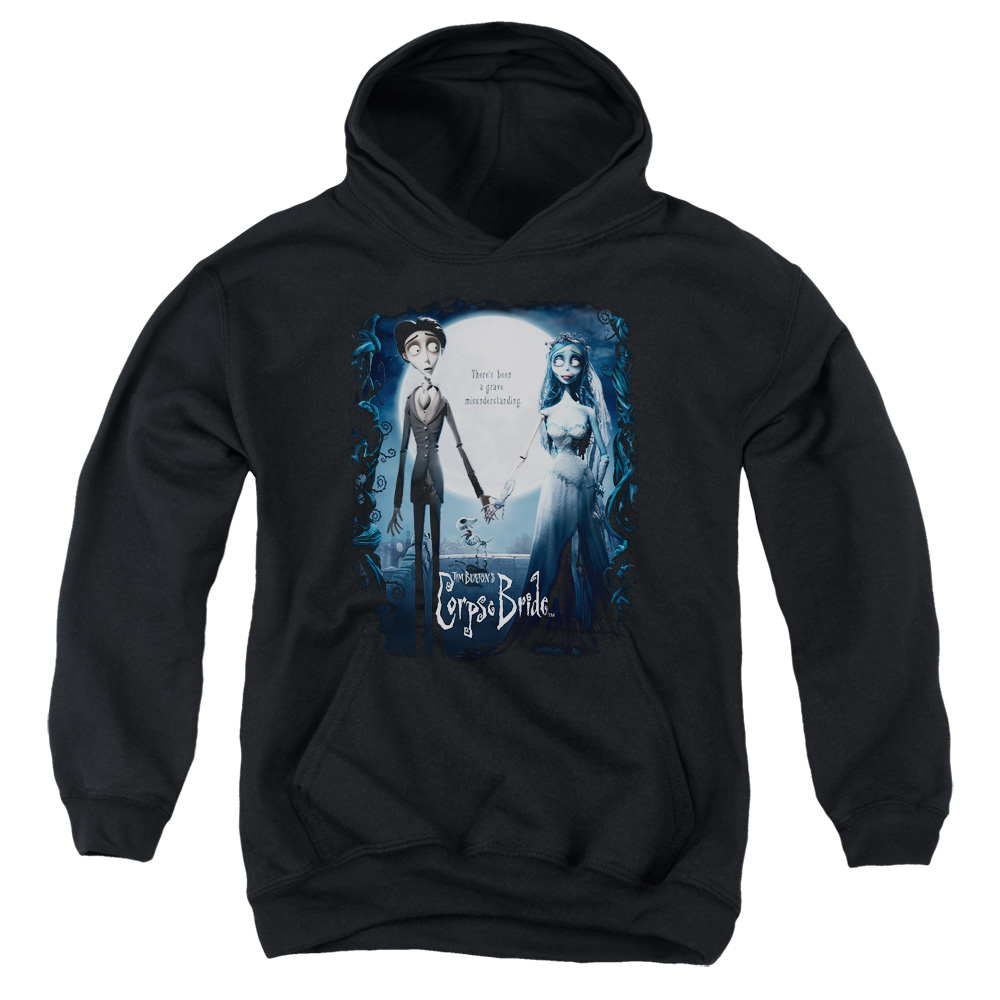 Corpse Bride Poster Big Boys Pullover Hoodie