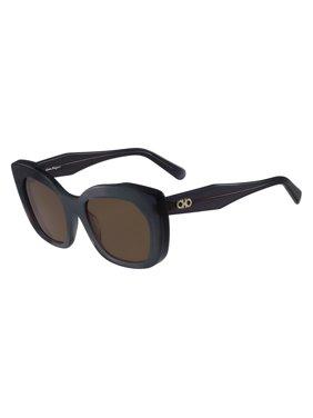 19d63dce44 Product Image Salvatore Ferragamo Sunglasses SF860S 057 Crystal Grey Cat Eye  Women 54x20x140