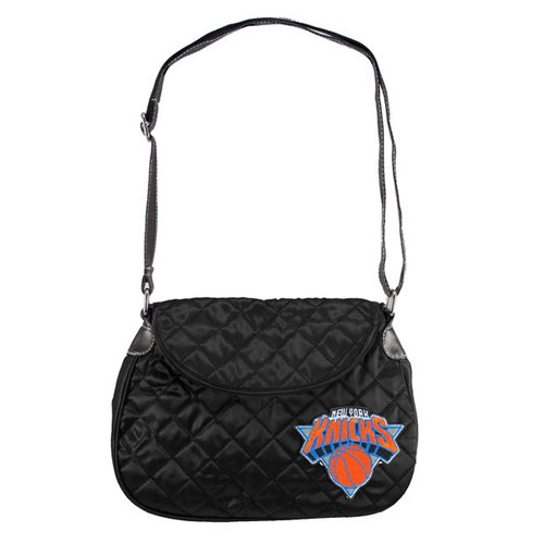 NBA - New York Knicks Quilted Saddle Bag