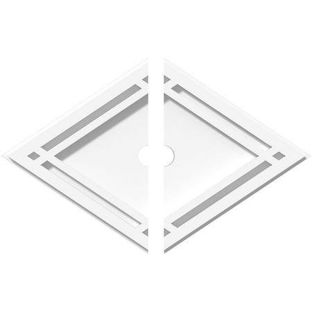 14 W x 9 3 8 H x 1 ID x 4 3 4 C x 1 P Diamond Architectural Grade PVC