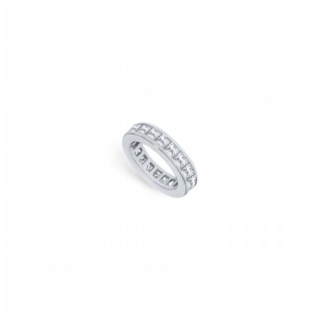 FineJewelryVault UBPTSQ250D160-2-101RS6.5 2.5 CT Platinum...